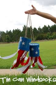 Windsocks Made From Tin Cans